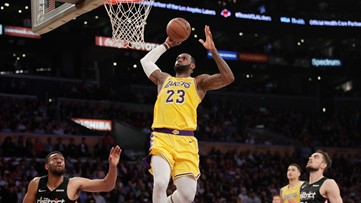 LeBron James: Los Angeles Lakers top off lost season by shutting down their best player