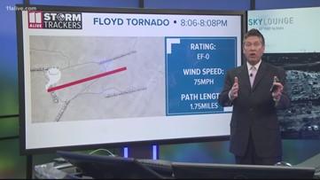 Tornado touches down in Georgia