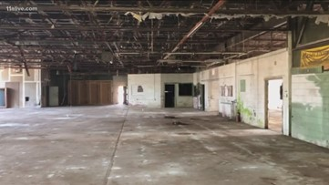 Plans for abandoned car dealership in East Point