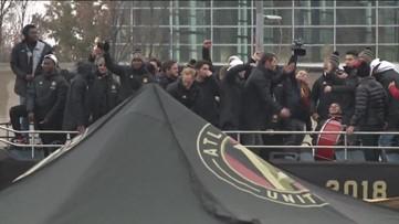 Celebrating Atlanta United