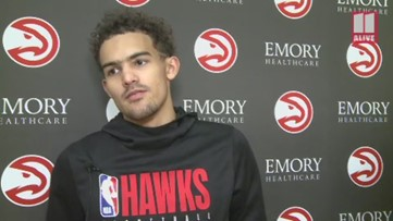 Trae Young and Kevin Huerter coronavirus comments