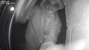 Doorbell cameras stolen from Decatur homes; police need help find this suspect