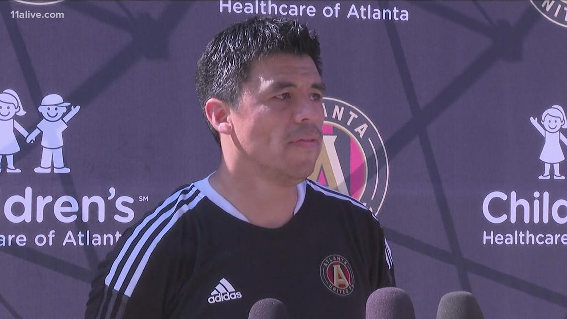 New Atlanta United head coach looks to build on team's recent momentum