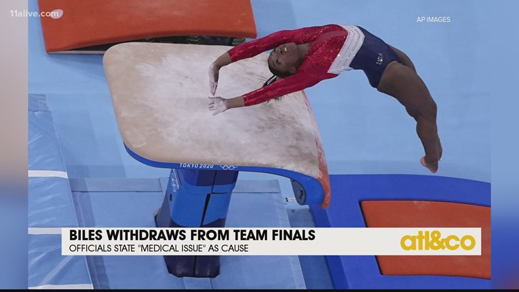 Olympics Update: Simone Biles Withdraws from Team Finals