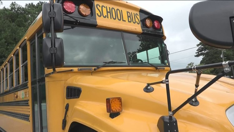 Fulton County gets Georgia's first all-electric school bus on Earth day
