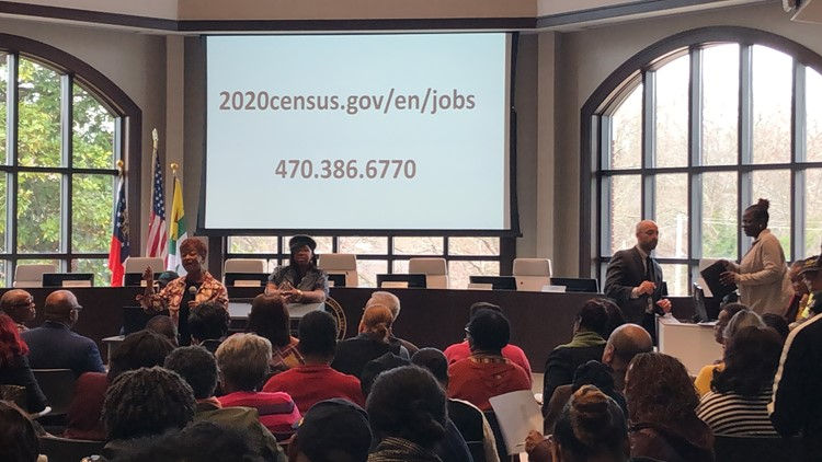 2020 Census Job Information Session at East Point City Hall