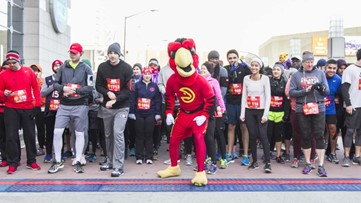 Local celebrities vying to win AJC Peachtree Road Race T-Shirt design contest