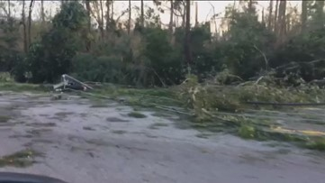 Preliminary cost for clearing damage behind Hurricane Michael in Georgia totals $400M