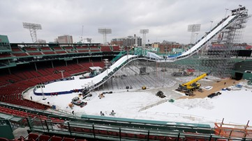 Braves announce skiing and snowboarding event: Here's how it looked when Boston did it