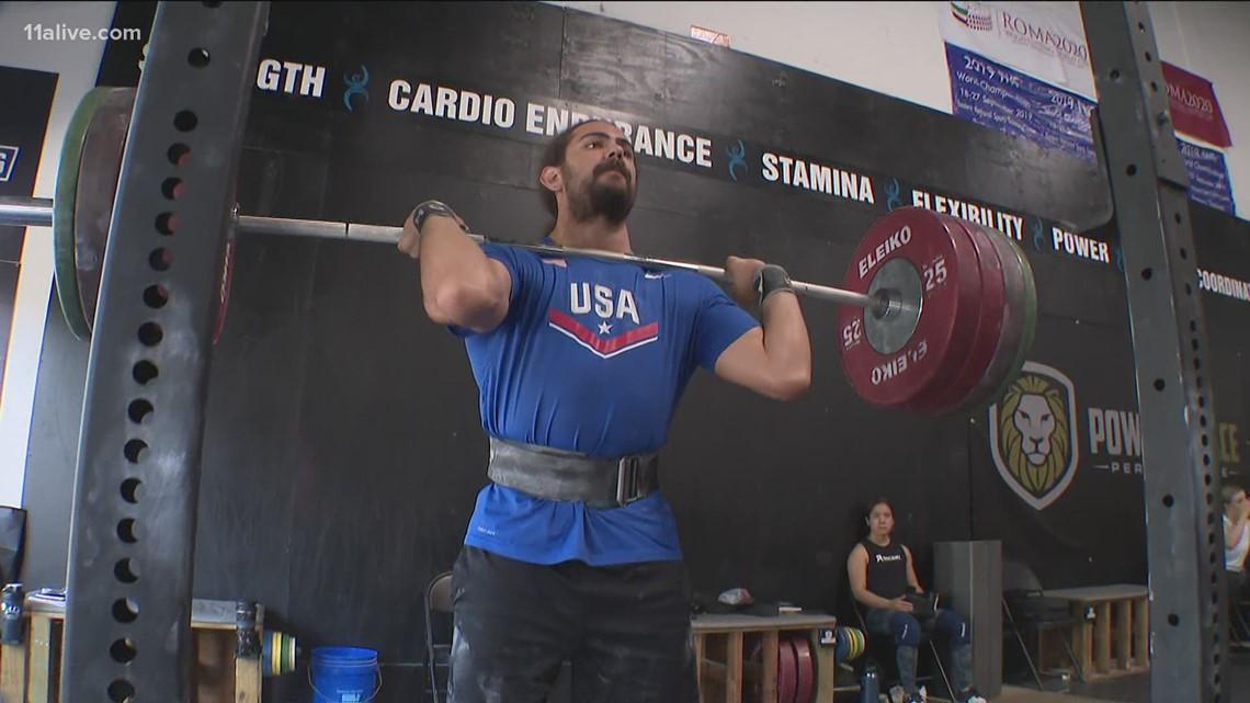 U.S. weightlifters prepare for Olympics in Suwanee