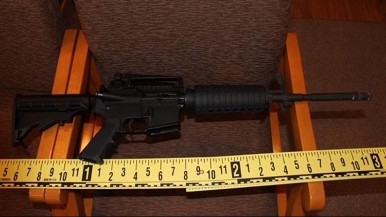 rifle found at church