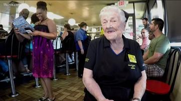 Longest serving Waffle House employee to celebrate 50 years at Atlanta-based chain