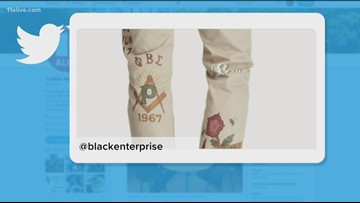 Ralph Lauren apologizes for using a historically black fraternity's Greek letters, Phi Beta Sigma, on their pants for profit