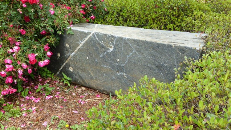 Hapeville's very own version of the 'Blarney Stone'
