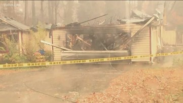 Father and mother lose son in Lilburn house fire