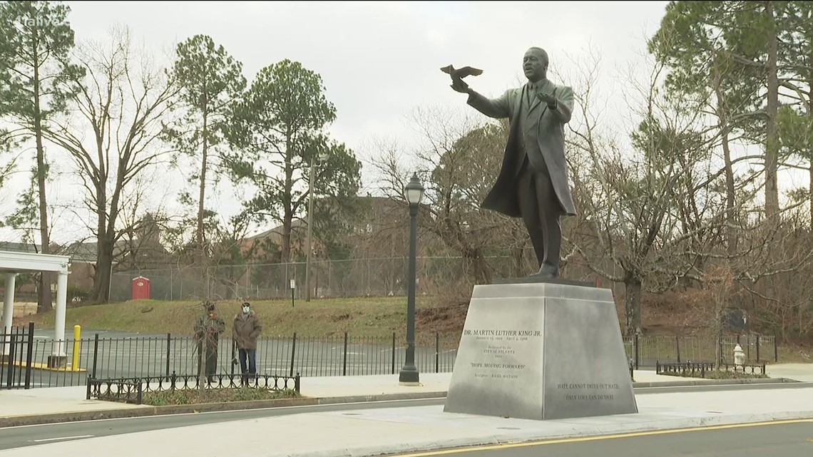 'Atlanta's brand is the civil rights movement' | City pays tribute to leaders with public art initiative