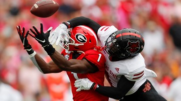 No. 3 Georgia romps to another win, 55-0 over Arkansas State