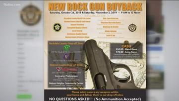 Gun dropoffs at churches? Pastor explains participation in Rockdale County gun buyback