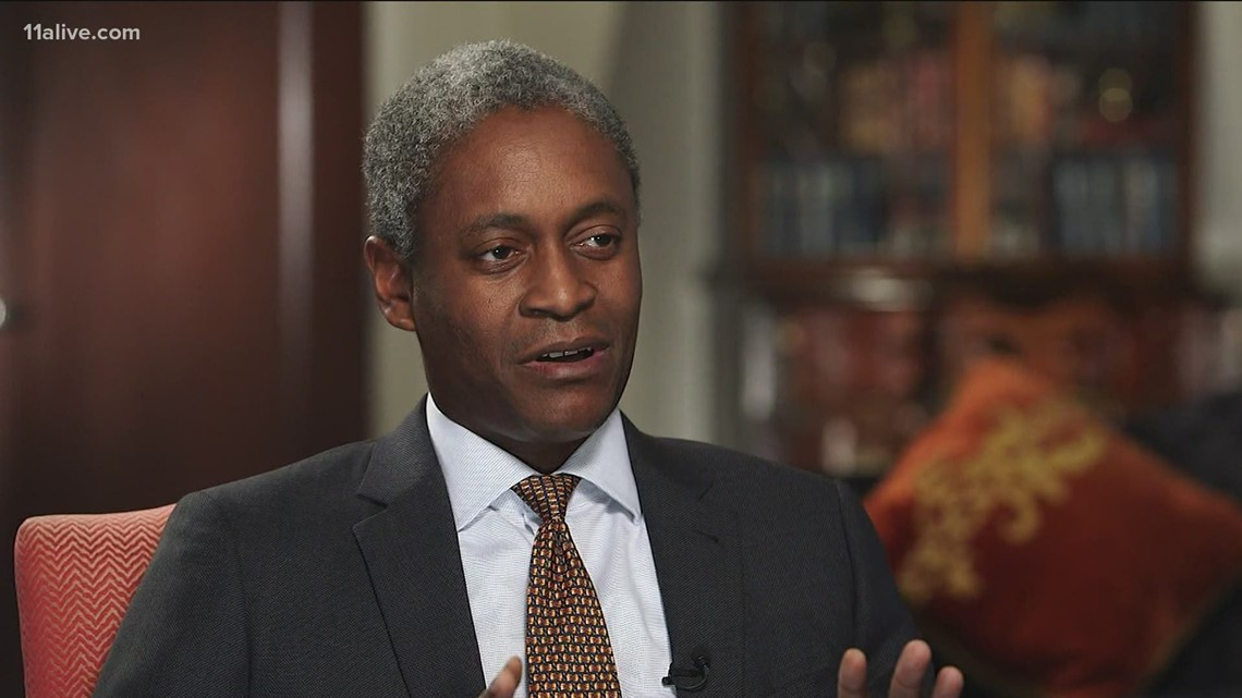 First Black president of Federal Reserve Bank of Atlanta says there are merits to reparations