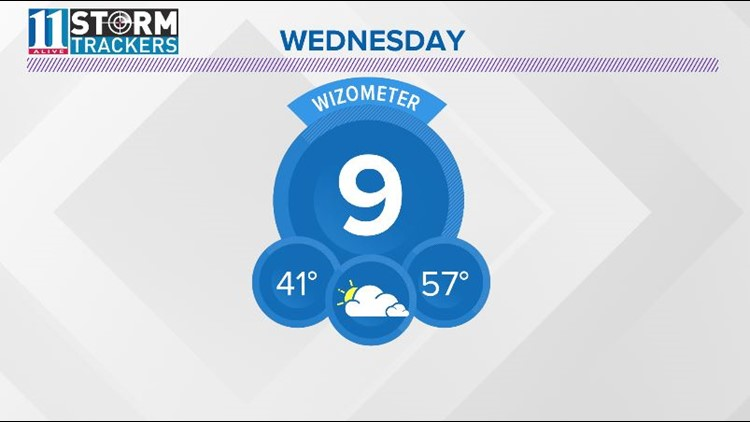 More clouds move in Wednesday