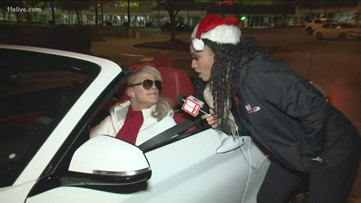 Convertible brings cans to Cascade Publix for Can-A-Thon!