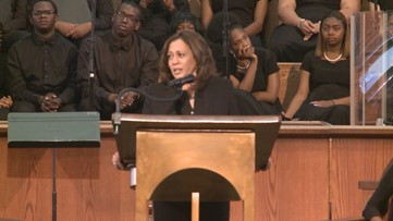'I know our future is bright': Presidential candidate Kamala Harris visits Atlanta