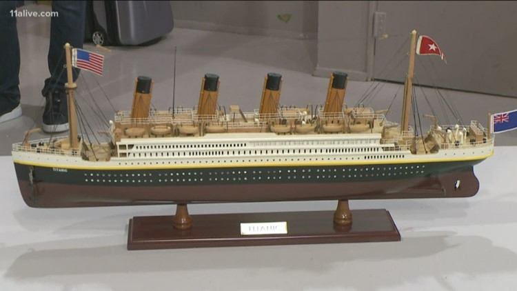 Students experience story of the Titanic, see relics from ship