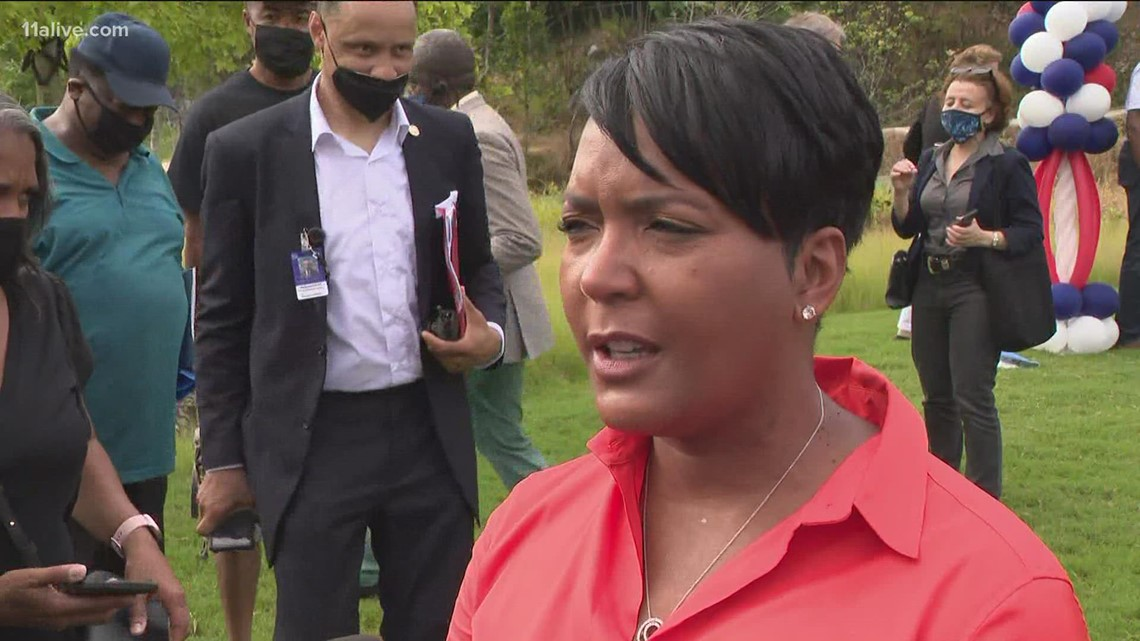 Atlanta mayor speaks on Gov. Kemp's executive order to to 'protect businesses'