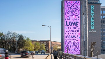 Signs of Solidarity: Artists share messages of hope across Atlanta