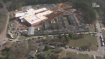 RAW: Gas leak forces evacuation of McNair Middle School