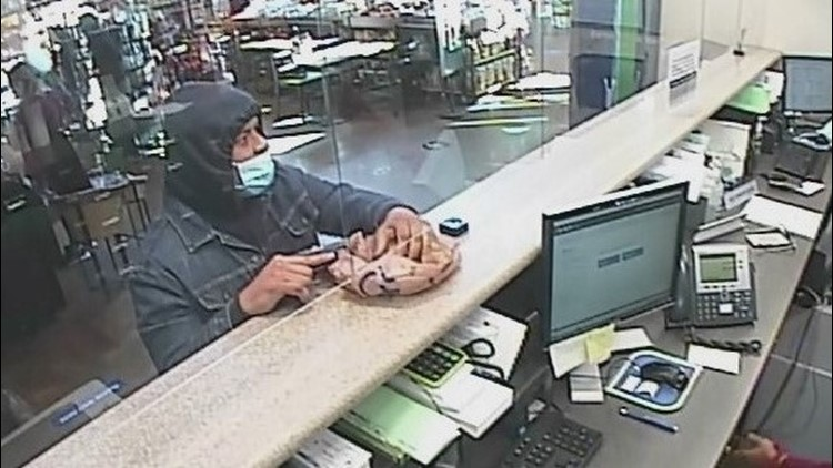FBI asking for help in locating armed bank robbery suspect