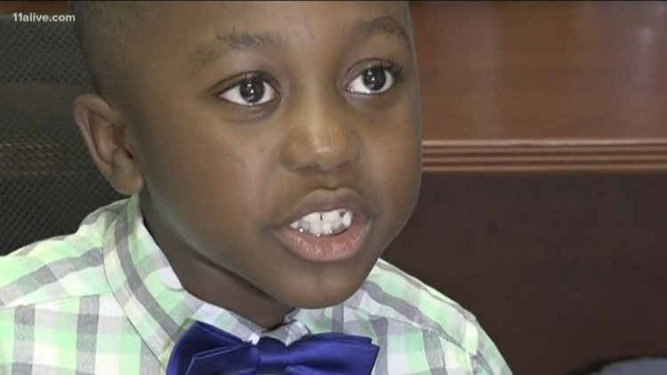 7-year-old boy balances being a kid with being an entrepreneur