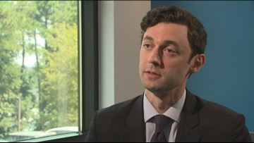 'I'm going to build a grassroots army across the state': Jon Ossoff running for Senate