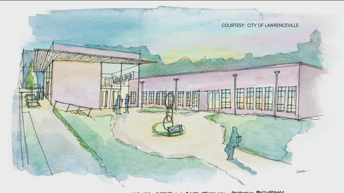 A look at the future of Lawrenceville's historic Hooper-Renwick School