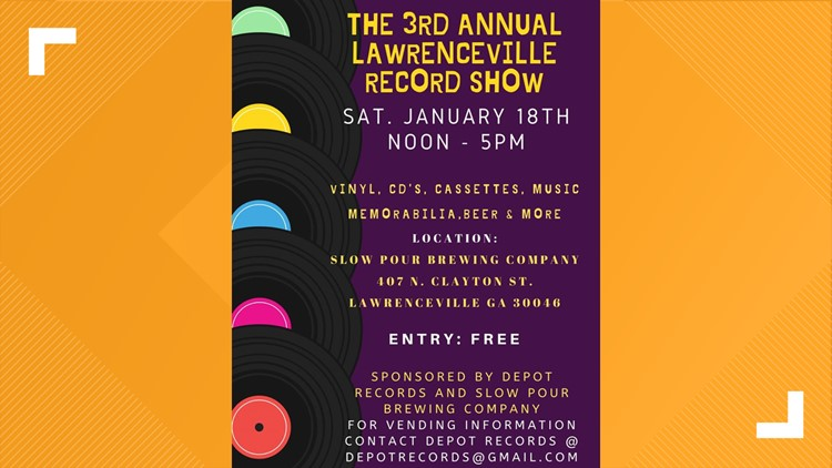 Lawrenceville Record Show
