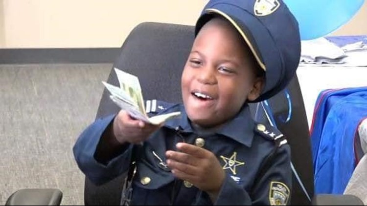 8-year-old crime-fighting Clayton County 'officer' loses battle with cancer