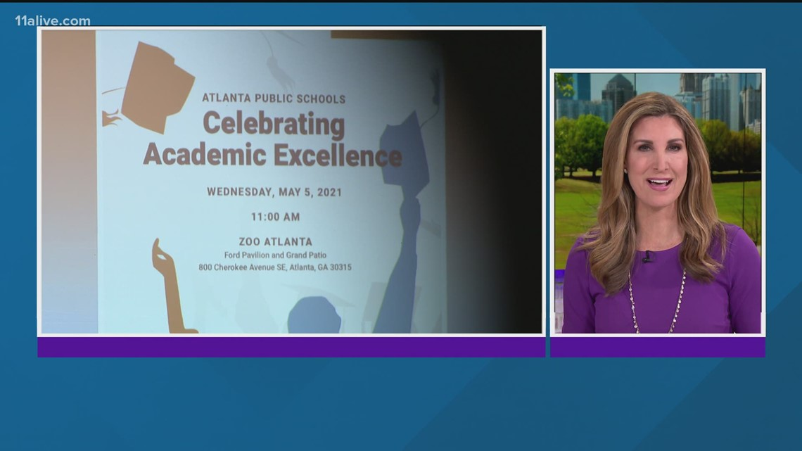 Atlanta Public Schools honored high school students with the highest academic achievements
