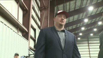 Falcons rookie Kaleb McGary undergoing heart  procedure