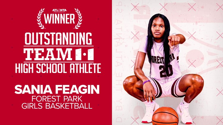 Forest Park basketball star named Team11 Outstanding High School Athlete during 2021 Atlanta Sports Awards