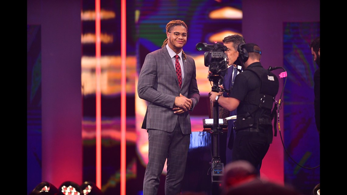 Photos College Football Awards In Atlanta 11alive Com