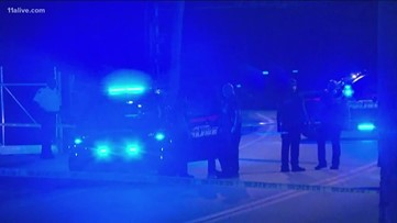 Atlanta officer opens fire after nearly being hit by escaping suspect