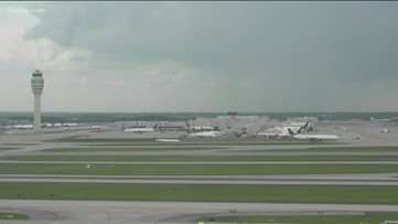 Ground stop issued at Hartsfield-Jackson due to storms
