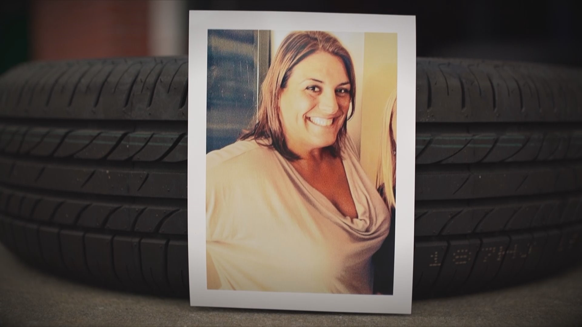 'The next moment she was gone': Loose tires deadly no matter the size