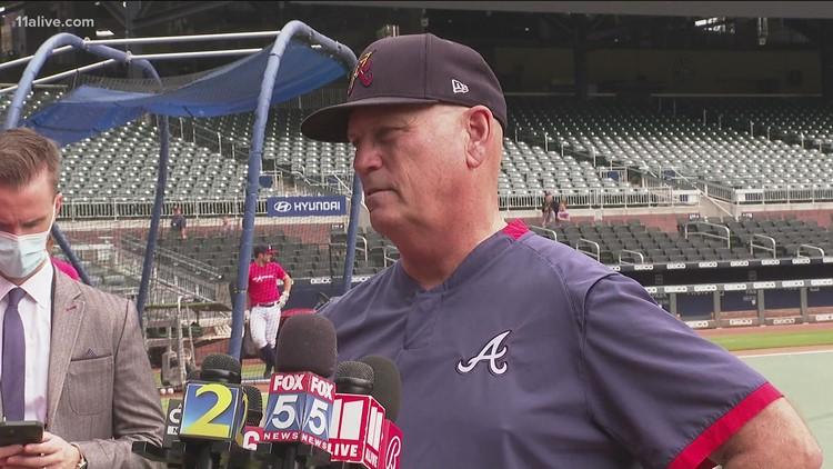 Braves prepare for battle with Brewers   11Alive Sports