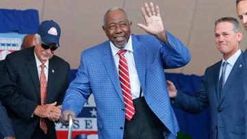 Atlanta Braves legend Hank Aaron celebrates his 85th birthday