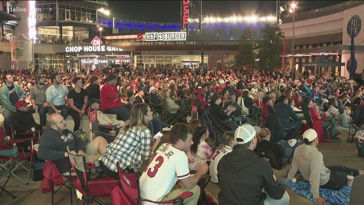 Fans optimistic Braves can still clinch World Series trip at home