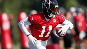 Julio Jones: Healthy and 'ready to ball' as contract talks continue