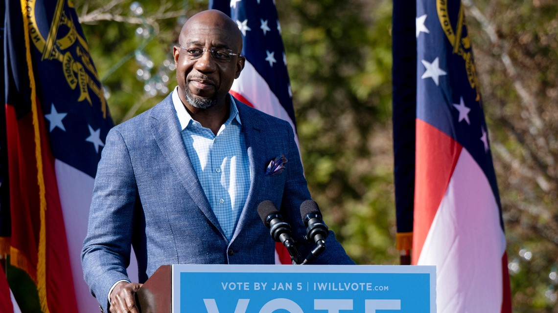 Raphael Warnock projected to become Georgia's first Black U.S. senator with victory