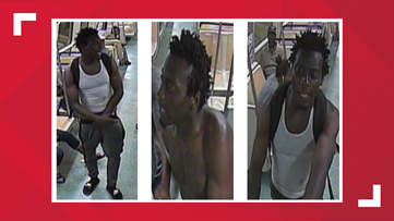 MARTA Police issue alert for suspect in alleged assault onboard train