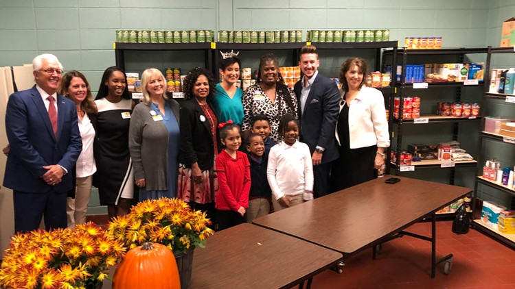 New food pantry directly benefits local elementary school